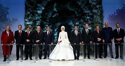 Sümeyye Erdoğan ve Selçuk Bayraktar'ın nikahından kareler