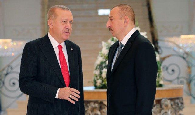 Son dakika haberi: Cumhurbaşkanı Erdoğan Aliyev ile görüştü!