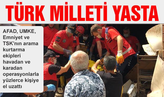 AFAD duyurdu! Kastamonu ve Sinop'taki sel felaketinde can kaybı artıyor
