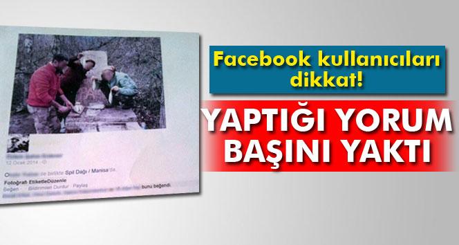Facebook'taki fotoğrafa yorum yaptı, mahkemeden ceza yedi